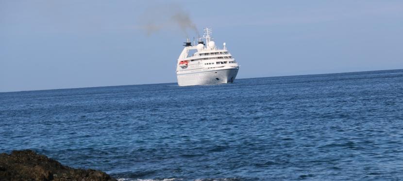 Isla Cébaco, recibecruceros