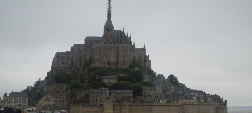 La mítica abadía de SaintMichel