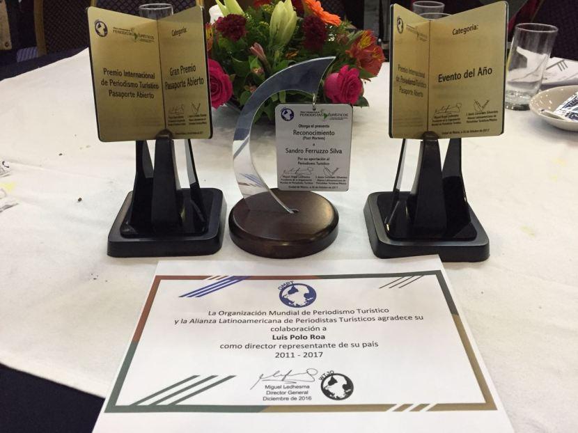 """Entregan premios """"Pasaporte Abierto"""""""