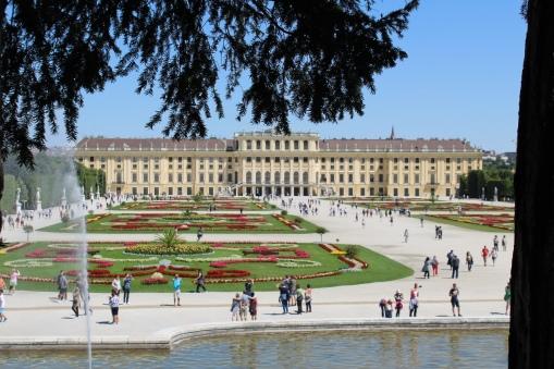 Los palacios son de los imperdibles de Austria
