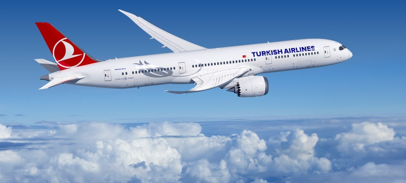 Turkish Airlines incorpora Boeing 787-9 Dreamliner