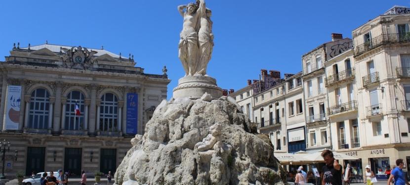 La perla del sur de Francia:Montpellier