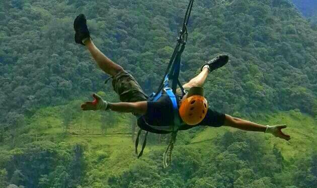 Turismo extremo; adrenalina allímite